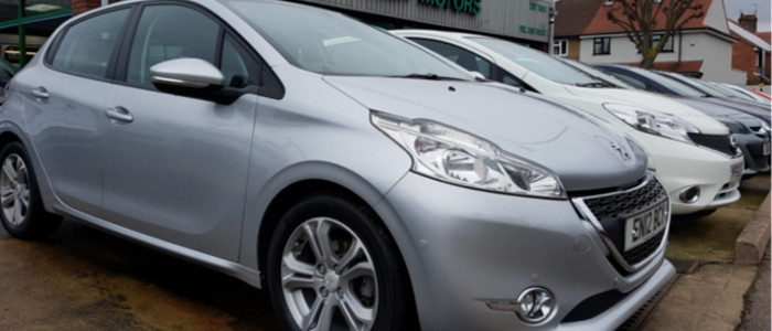 wide range of used cars