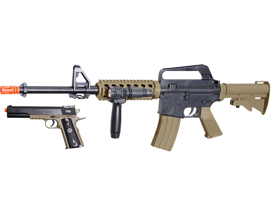 Types of airsoft Rifles
