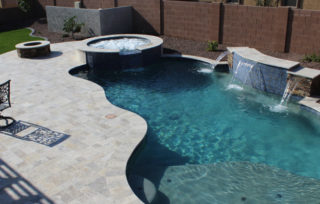 In what way soda blasting proven to be effective in cleaning a swimming pool?
