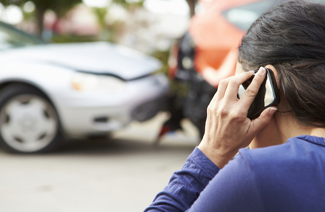 car accident to your insurance company