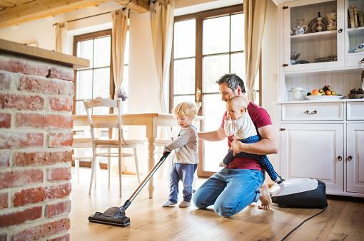 HEPA vacuum cleaning